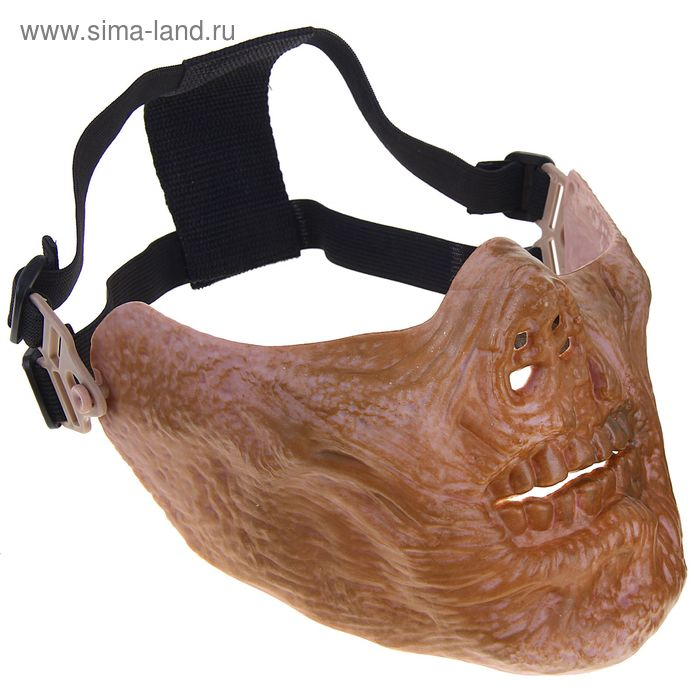 Маска для страйкбола KINGRIN M05 skull mask (Dried bone) MA-67-GG