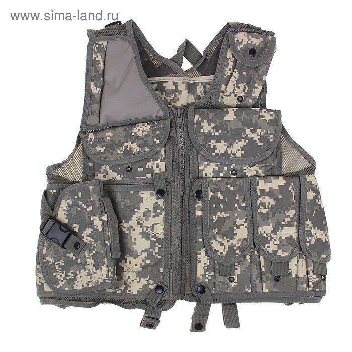 Жилет разгрузочный KINGRIN TVE tactical vest (ACU) VE-31-ACU