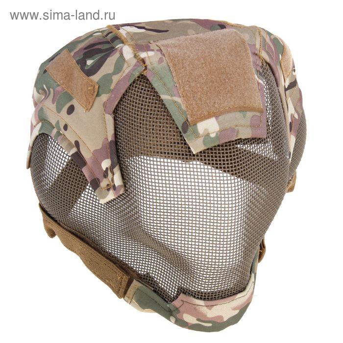 Маска для страйкбола KINGRIN V6 strike steel ultimate edition mask (CP) MA-19-CP