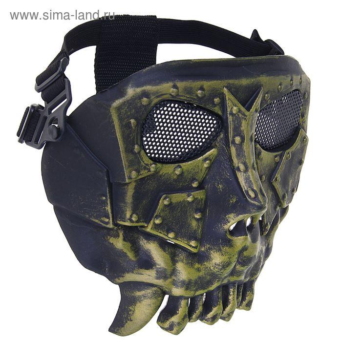 Маска для страйкбола KINGRIN Desert army group mask V2-Round mesh (Copper) MA-53-PA
