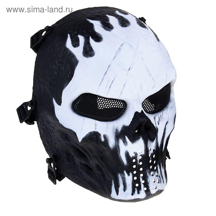 Маска для страйкбола M06 Tactial Skull Mask MA-79-W