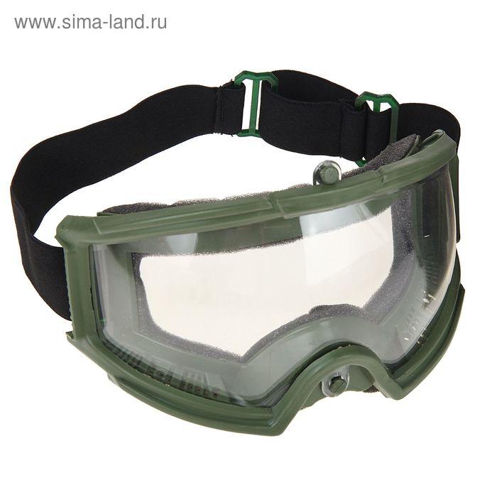 Очки защитные для страйкбола KINGRIN Tactical gear goggles-Nylon glasses (OD) MA-60-OD