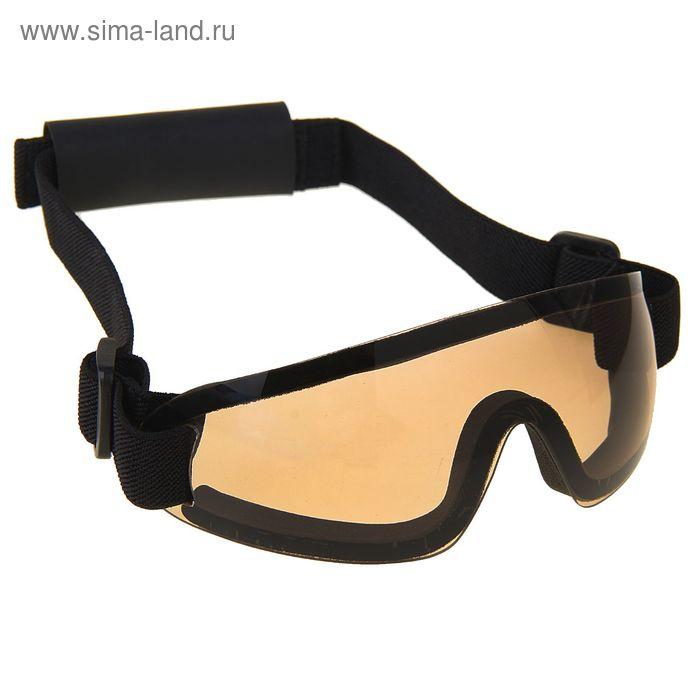 Очки защитные для страйкбола KINGRIN Adjustable tactical goggles (Brown) MA-73-BR