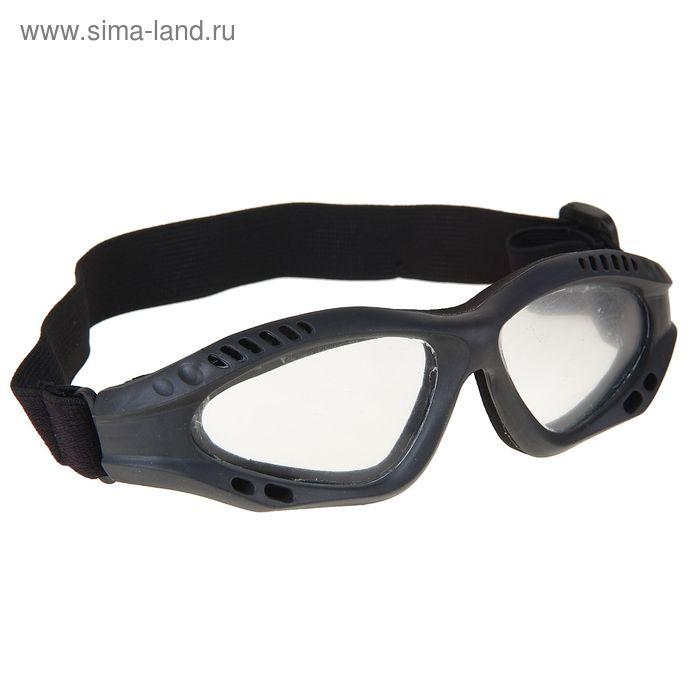 Очки защитные для страйкбола KINGRIN Zero steel mesh glasses (Black)