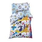 """Постельное бельё 1,5 сп """"Микки Маус и друзья: Приключения ждут"""", размер 143х215 см, 150х214 см, 50х70 см-1 шт., 100% хлопок"""