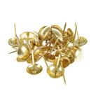 Гвоздь мебельный, цвет золото, в упаковке 30 шт.
