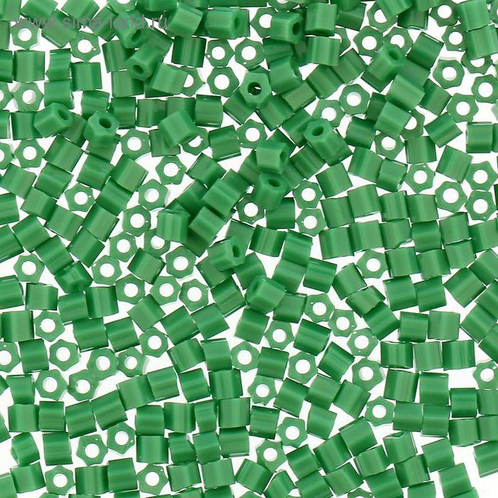 """Бисер Япония """"TOHO"""" Hexagon №2, 11/0, 5гр (0047D зеленый)"""