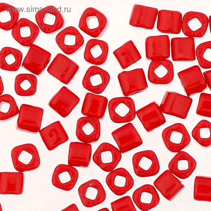 """Бисер Япония """"ТОНО"""" Cube №2, 3 мм, 5гр (0045 вишневый)"""