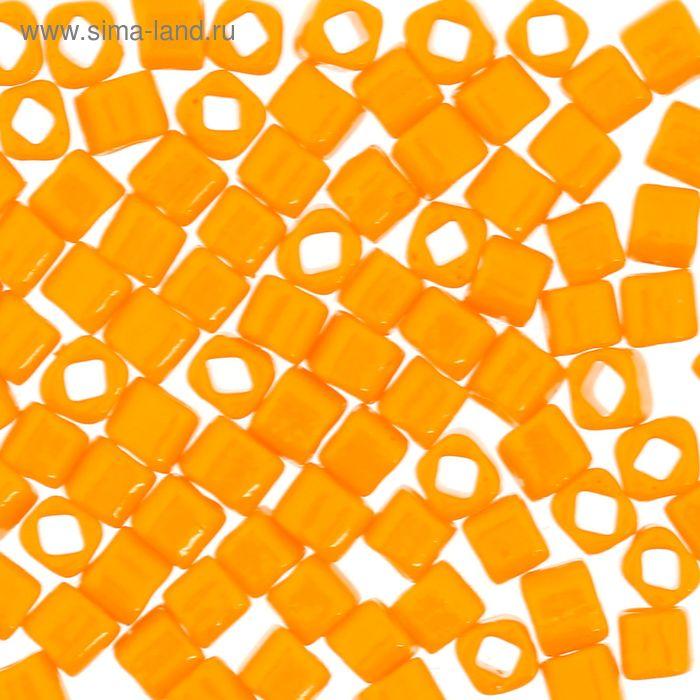 "Бисер Япония ""ТОНО"" Cube №2, 3 мм, 5гр (0042D оранжевый)"