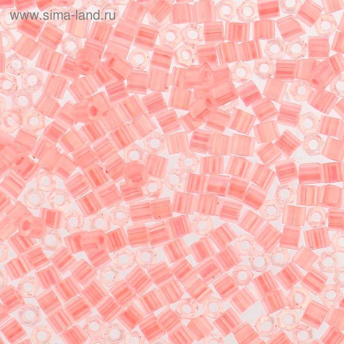 """Бисер Япония """"TOHO"""" Hexagon №3, 11/0, 5гр (0145 св.розовый/перл.)"""
