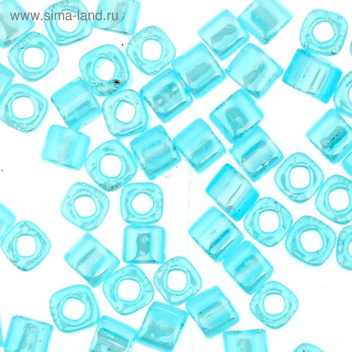 "Бисер Япония ""ТОНО"" Cube №2, 3 мм, 5гр (0143 бл.голубой/перлам.)"