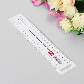 Шаблон для разметки и измерения, 21см Ош