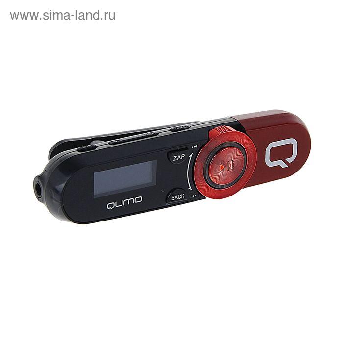 """MP3 плеер Qumo Magnitola Red, 4 Гб, дисплей 1.1"""", USB 2.0"""