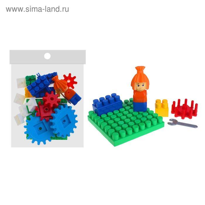 """Фикси-конструктор """"Симка"""" 25 элемента, в пакете"""