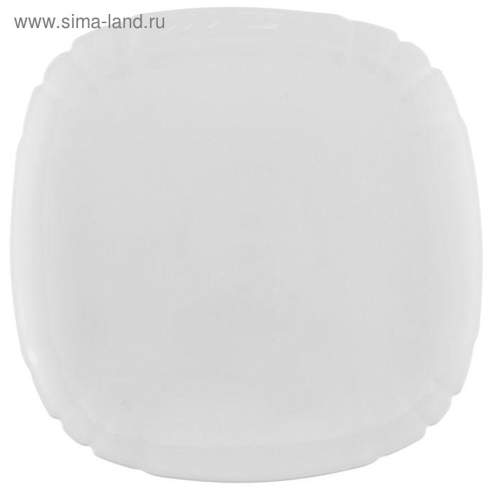 Тарелка плоская 25 см Lotusia