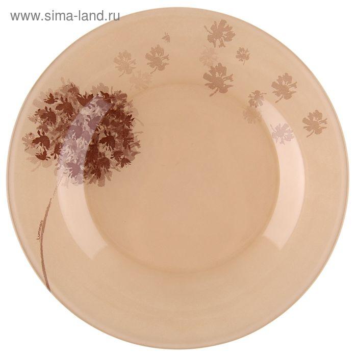 Тарелка плоская 25 см Stella Chocolat