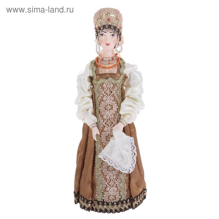 """Сувенирная кукла """"Анастасия"""" в национальн. костюме, Россия"""
