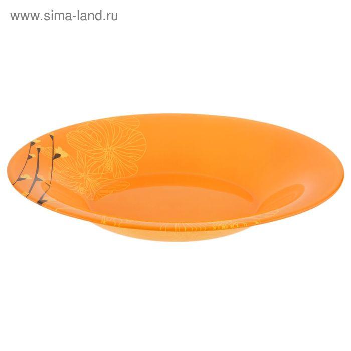 Тарелка глубокая 21 см Rhapsody Orange