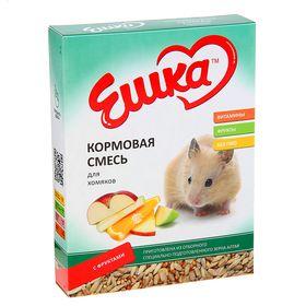 Кормовая смесь «Ешка» для хомяков с фруктами 450 гр