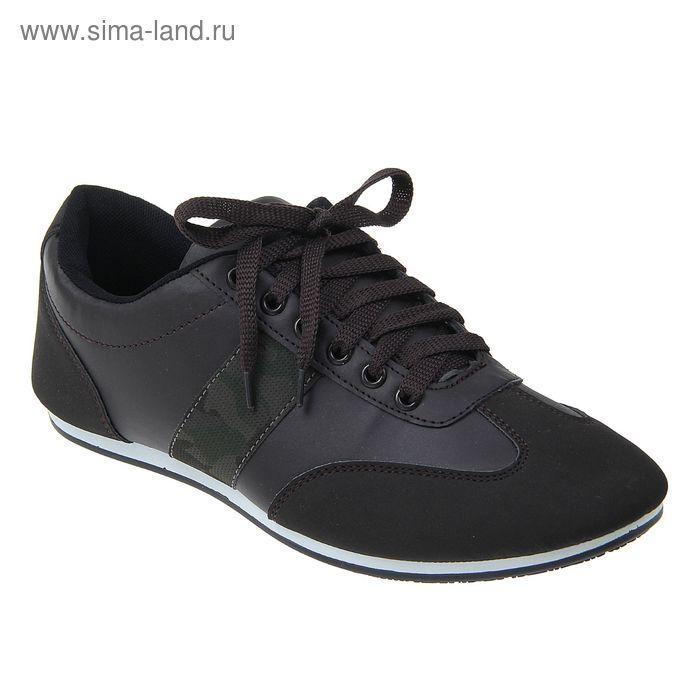 Кроссовки мужские, цвет коричневый, размер 43 (арт. LKM00071-08)