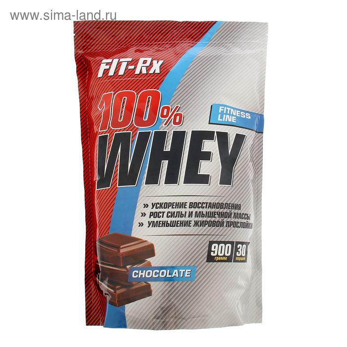 Протеин Fit-RX 100% Whey шоколад 900г