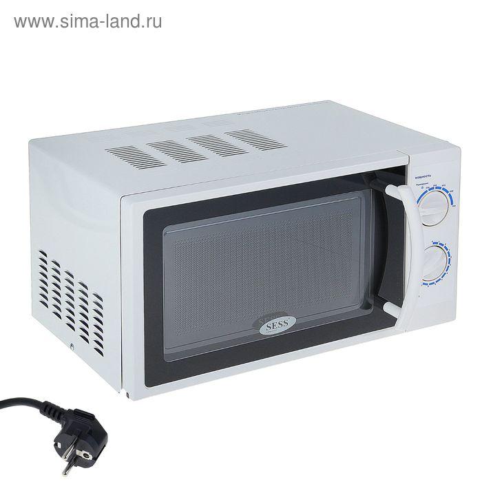 Микроволновая печь SESS SS-17MD, 17 л, 700 Вт, белая
