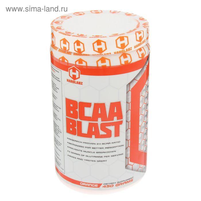 Аминокислоты Hardlabz BCAA Blas апельсин 450 г