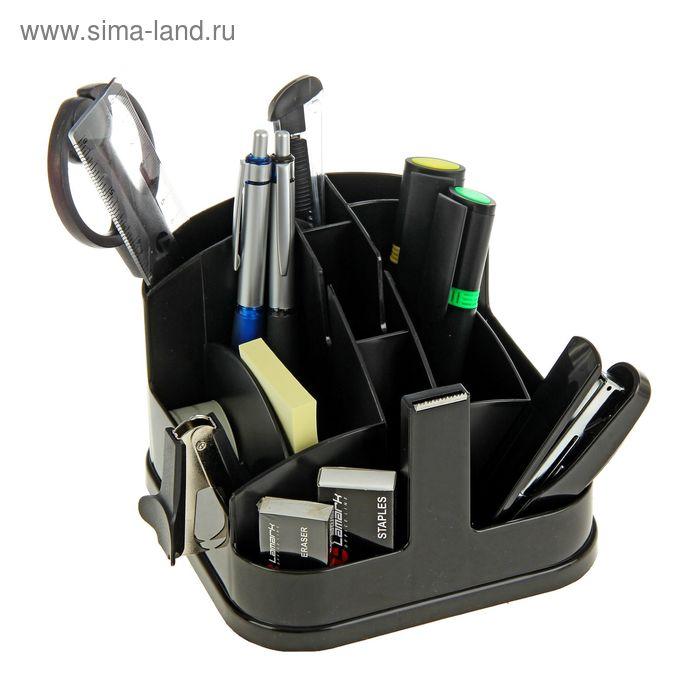 Набор настольный Lamark Munchen, премиум наполнение 12 предметов, чёрный