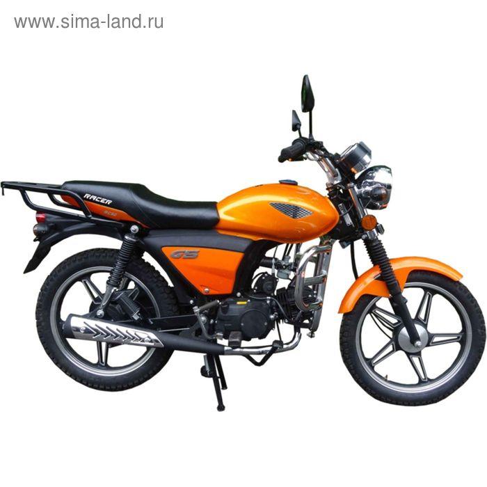 Мопед Racer RC50 Alpha, оранжевый