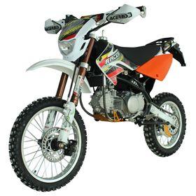 Мотоцикл Racer RC125-PM Pitbike, оранжевый Ош