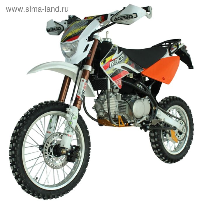 Мотоцикл Racer RC125-PM Pitbike, оранжевый