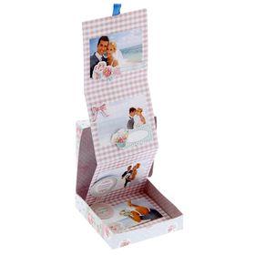 Коробочка для хранения фотографий 'Счастье рядом', 11 х 11 см Ош