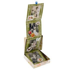 Коробочка для хранения фотографий 'Винтаж', 11 х 11 см Ош
