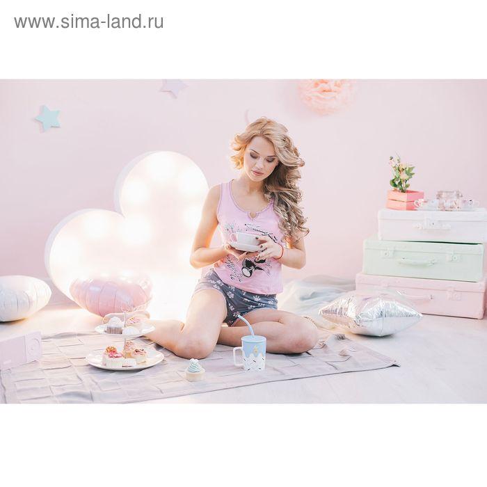 Комплект женский Ника розовый, р-р 54