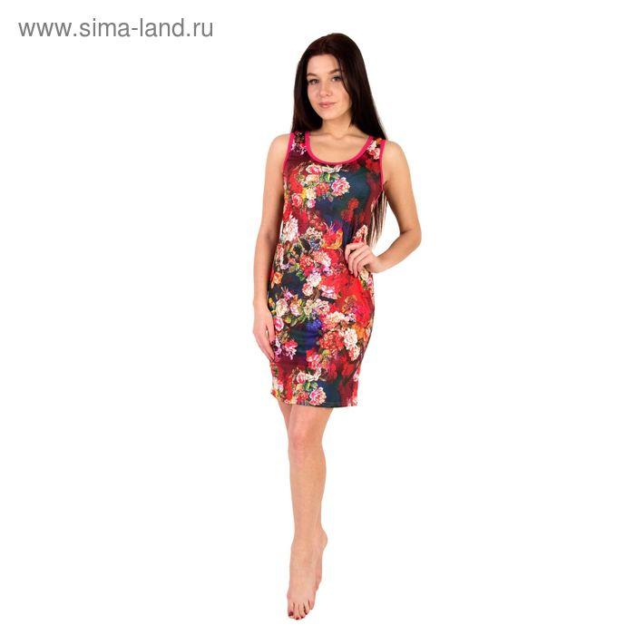 Платье женское Рио МИКС, р-р 54
