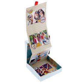 Коробочка для хранения фотографий 'Люблю путешествовать', 11 х 11 см Ош