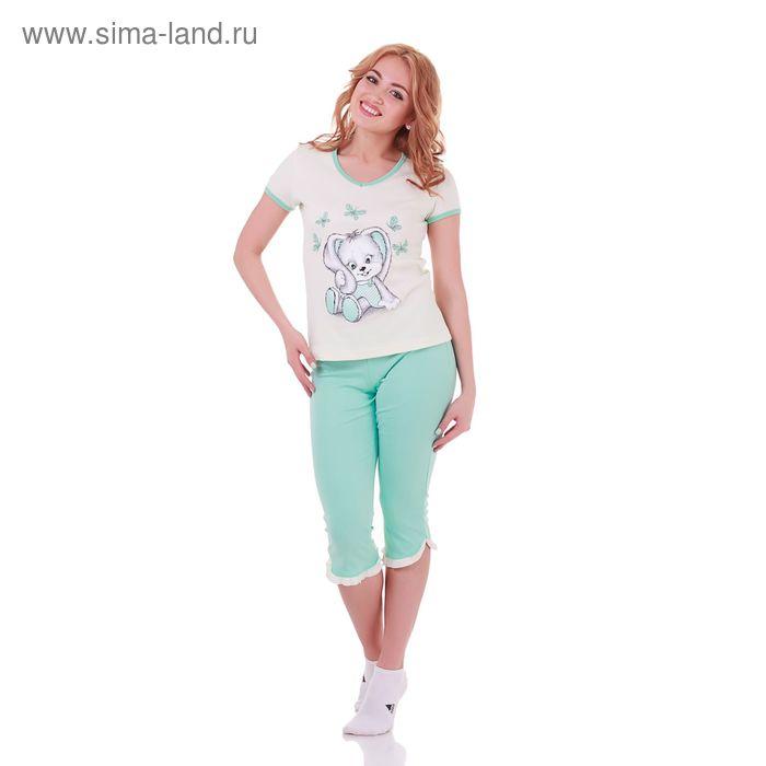 Пижама женская Милашка 208741 мята, р-р 44
