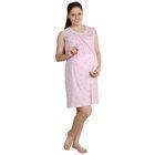 Сорочка для беременных Бейби розовая, р-р 44
