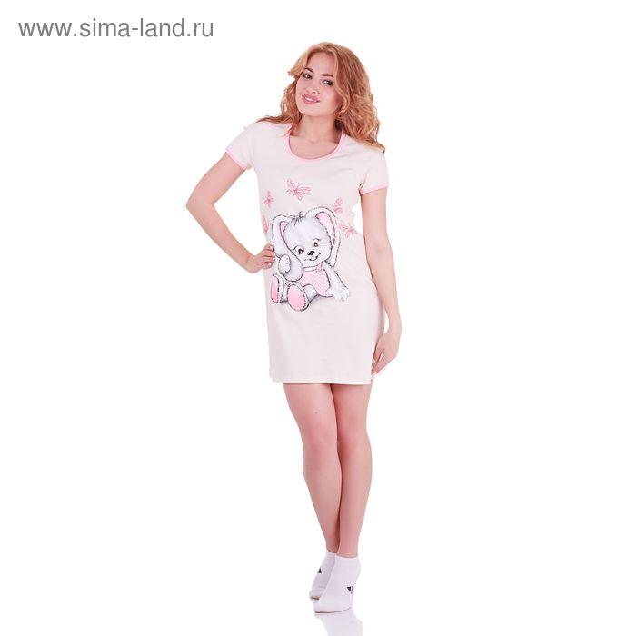 Туника женская Милашка 238741 персик, р-р 44