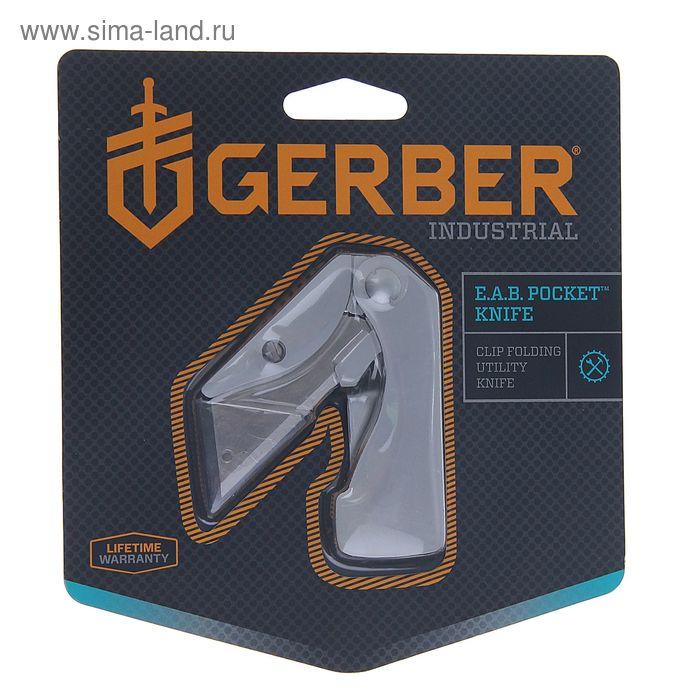 Нож складной Gerber Industrial EAB Utility, 22-41830, сталь