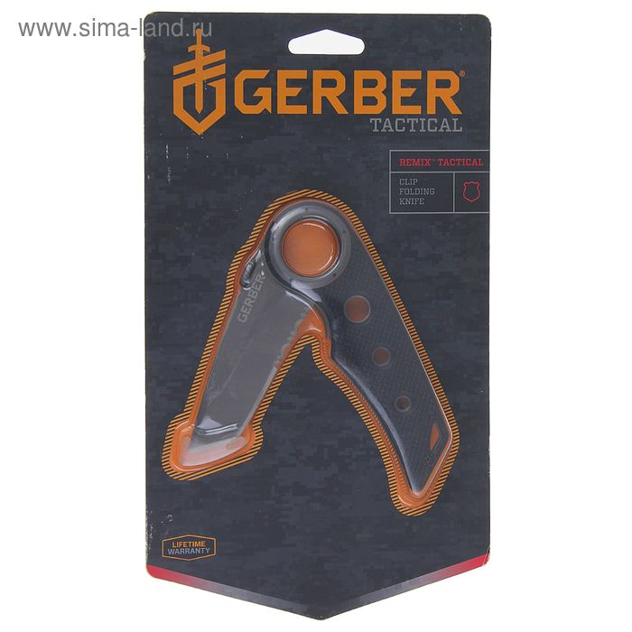 Нож складной Gerber Tactical Remix Tactical, сталь 7Cr17MoV, рукоять-стеклотекстолит G10