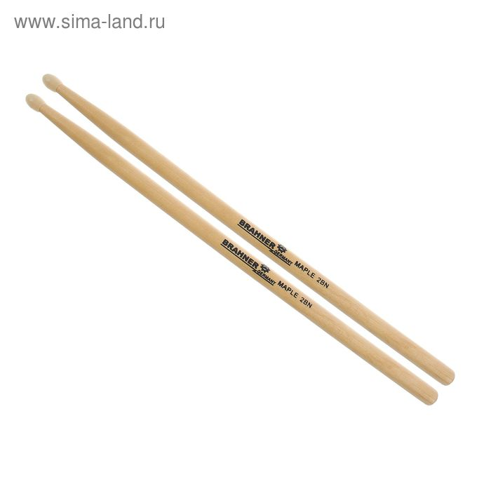 "Барабанные палочки ""Brahner"" 2BN, клён, нейлон"