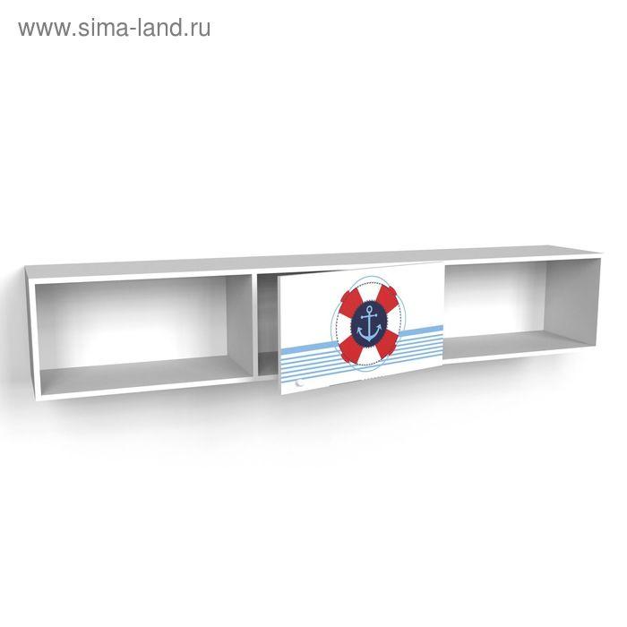 Шкаф многоцелевой надкроватный с одним фасадом Юнга 1942*360*316 Белый