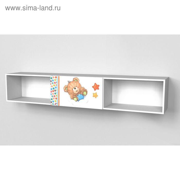 Шкаф многоцелевой надкроватный с одним фасадом Непоседа 1942*360*316 Белый