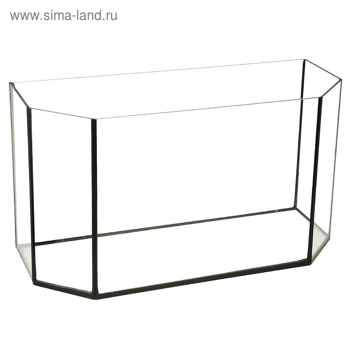 Аквариум Панорамный без крышки 60 л.