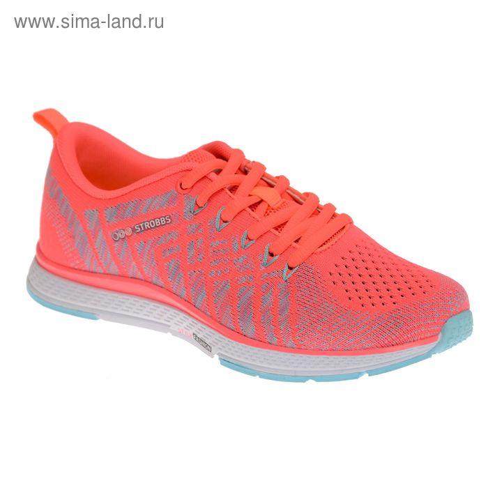 Кроссовки женские STROBBS, цвет розовый, размер 40 (арт. F6396-11)