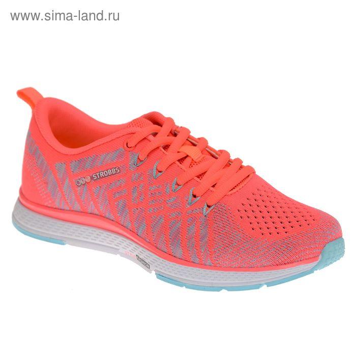 Кроссовки женские STROBBS, цвет розовый, размер 36 (арт. F6396-11)