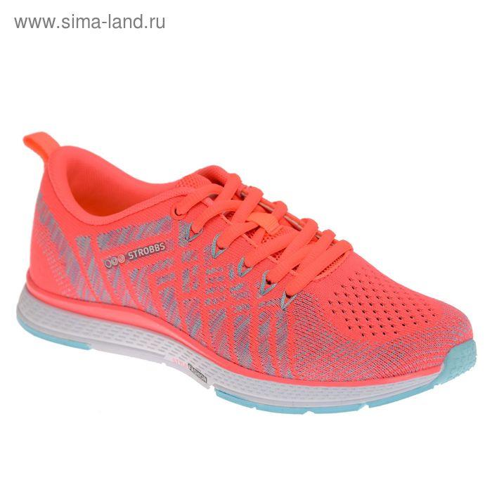 Кроссовки женские STROBBS, цвет розовый, размер 37 (арт. F6396-11)