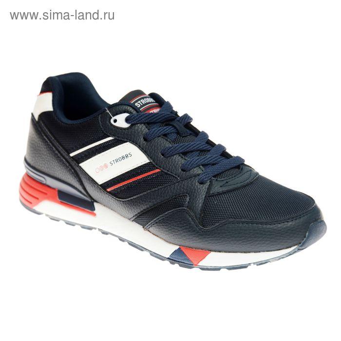 Кроссовки мужские STROBBS, цвет синий, размер 43 (арт. С2320-2)
