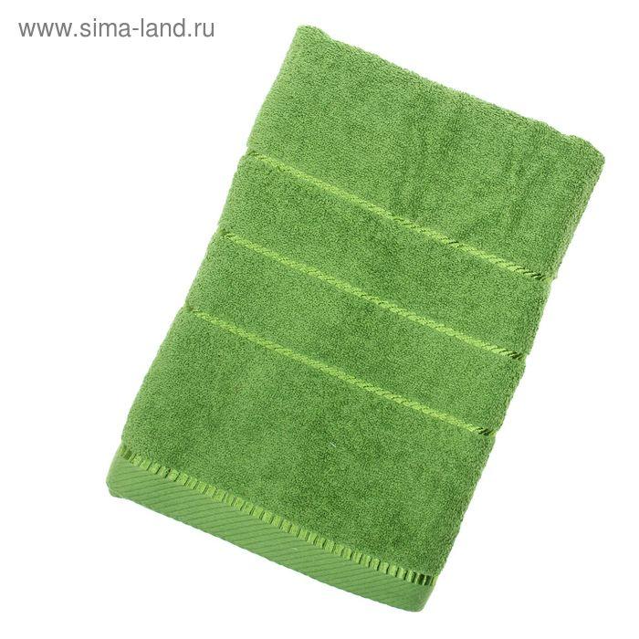 Полотенце махровое BERLIN Uni, размер 70х140 см, 470 г/м, цвет зелёный